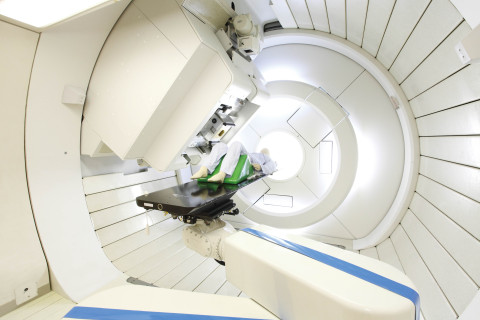 Proton beam therapy for brain and skull base tumours